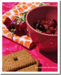 crumblefruitsrougespeculoossigne thumb Crumble aux fruits rouges express