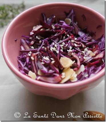 saladechourouge thumb Recette de chou rouge au curcuma