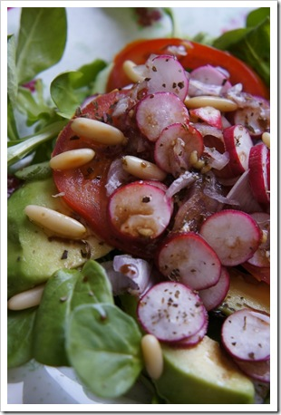saladeavocattomate thumb Salade avocat tomate