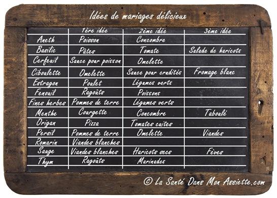 Herbesaromatiques thumb Les herbes aromatiques, 30 mariages pleins de saveurs.
