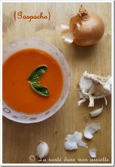 gaspacho thumb Gaspacho : La recette rapide
