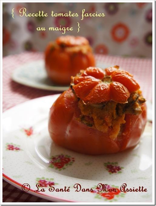 recettetomatefarcierapide thumb Recette de tomates farcies