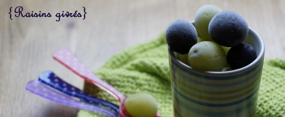 raisins givrés slider