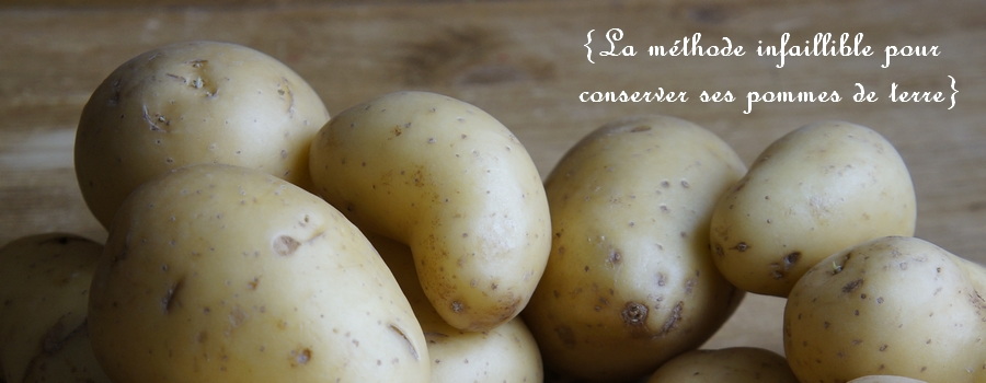 comment conserver les pommes de terre slider