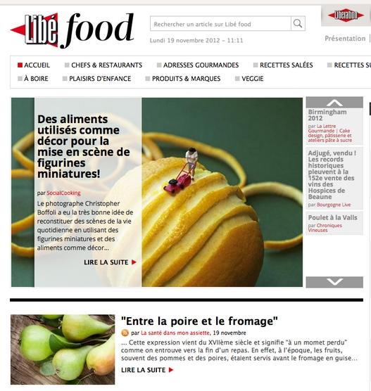 libefood 19 11 2012 Revue de presse