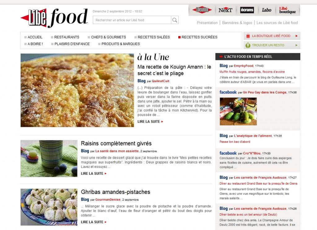 libefood02092012 1024x745 Revue de presse
