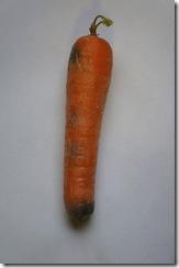 carotte pourrie thumb Les Français et le gaspillage alimentaire