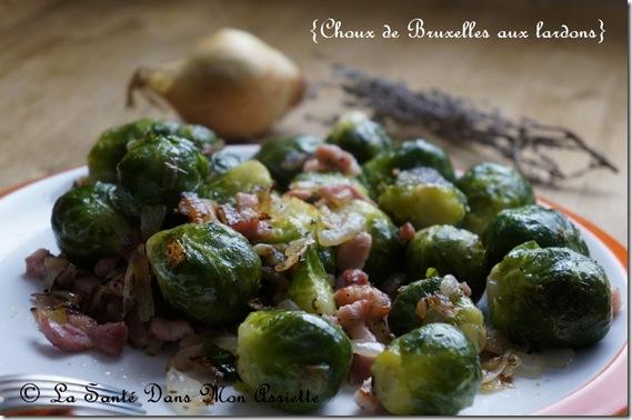 recette choux de bruxelles lardons thumb Choux de Bruxelles aux lardons
