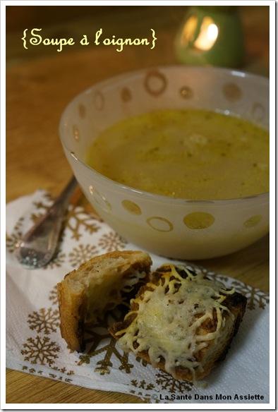 soupe loignon thumb Recette de soupe à loignon