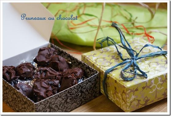 pruneaux chocolat thumb Noël : ballotins de pruneaux au chocolat