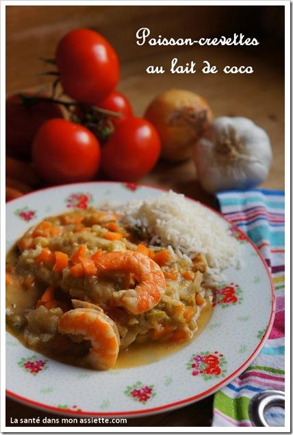 recette poisson lait de coco thumb Recette de poisson au lait de coco