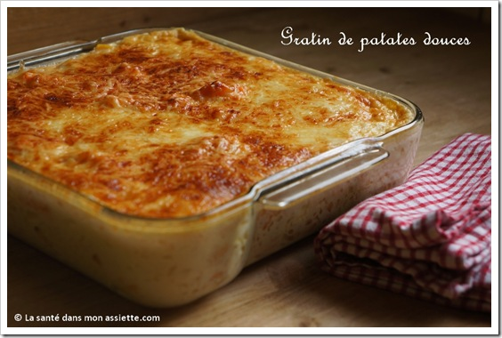 gratin de patate douce thumb Gratin de patates douces