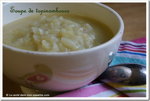 topinambour soupe thumb Soupe de topinambours