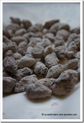 amandes au cacao thumb Amandes au chocolat