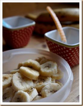 banane congele thumb Sorbet à la banane simplissime